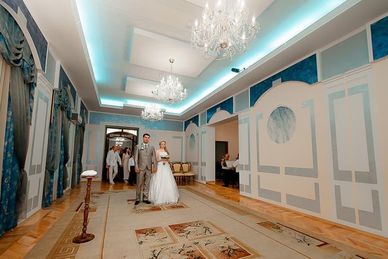 Современные интерьеры дворца бракосочетания 3 в пушкине